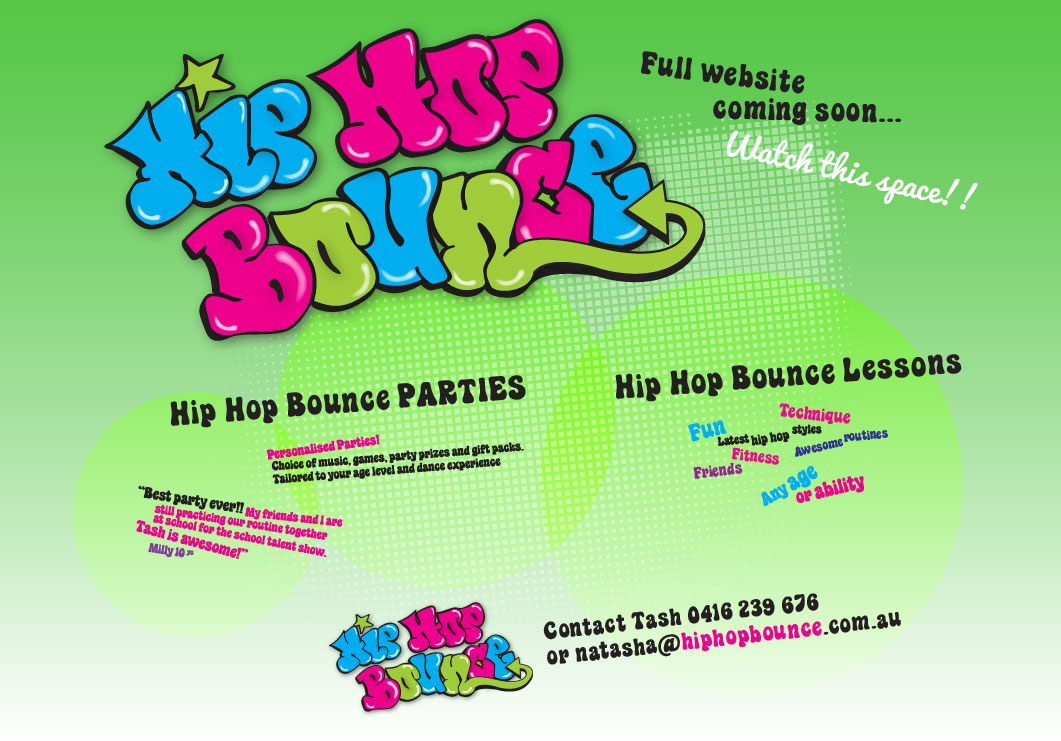 Hip Hop Bounce is Under Construction